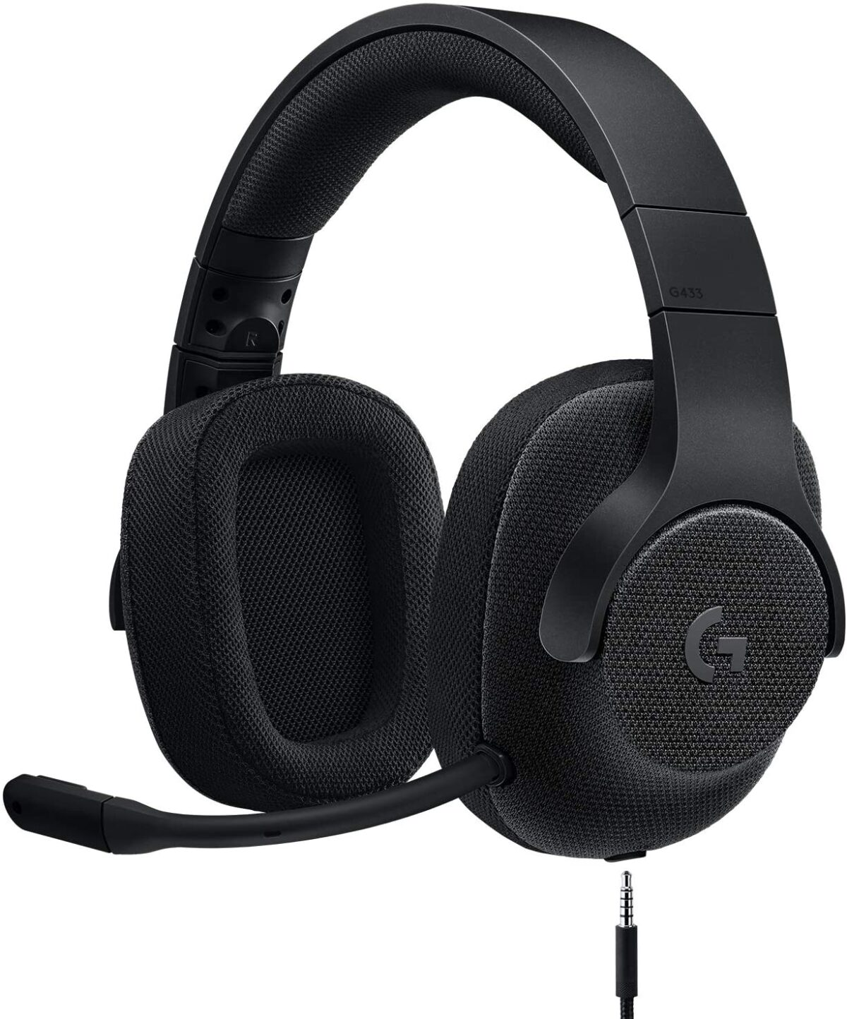logitech g433 headset maroc