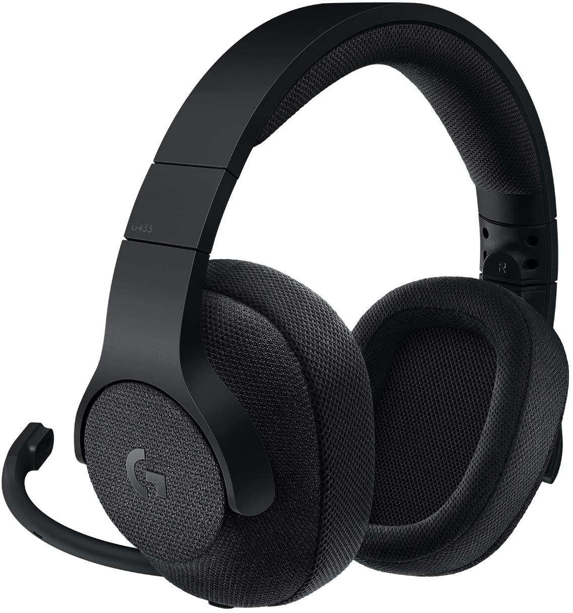 logitech g433 headset morocco