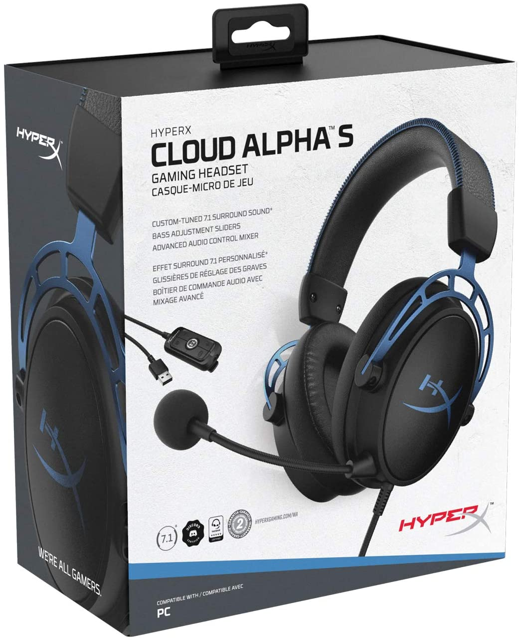 hyperx cloud alpha blue maroc