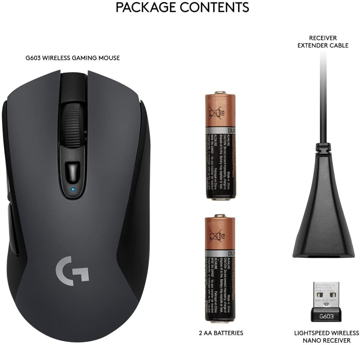 g603 mouse moorocco